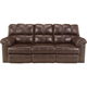 Ashley Signature Design 2900187 Kennard Chocolate Contemporary Power Reclining Sofa - 2900187 / 2900187 - IN STOCK
