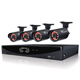 Night Owl 4 Channel Video Security System with 4 x 650 TVL Bullet Cameras - F6-45-4624N / F6454624N - IN STOCK