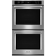 Kitchen Aid KODE500ESS 30 in. Stainless Convection Double Wall Oven - KODE500ESS - IN STOCK