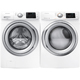 Samsung White Front Load Washer & Dryer Pair - WF42H5200WPR - IN STOCK