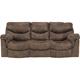 Ashley Signature Design 7140088 Alzena Gunsmoke Contemporary Reclining Sofa - 7140088 / 7140088 - IN STOCK
