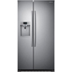 Samsung RS22HDHPNSR 22.3 Cu.Ft. Stainless Counter-Depth Side-by-Side Refrigerator - RS22HDHPNSR - IN STOCK
