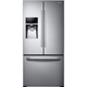Samsung RF26J7500SR 26 Cu. Ft. 33 in. Width Stainless French Door Refrigerator  - RF26J7500SR - IN STOCK