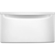 Whirlpool XHPW155DW 15.5 in.  White Front Load Laundry Pedestal with Storage Drawer - XHPW155DW - IN STOCK
