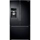 Samsung RF28HDEDPBC 27.8 Cu. Ft. Black Food ShowCase French Door Refrigerator - RF28HDEDPBC - IN STOCK
