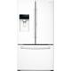 Samsung RF28HDEDPWW 27.8 Cu. Ft. White Food ShowCase French Door Refrigerator - RF28HDEDPWW - IN STOCK