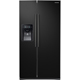 Samsung RS25J500DBC 24.52 Cu. Ft. Black Side-by-Side Refrigerator - RS25J500DBC - IN STOCK