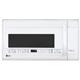 LG LMVM2033SW 2.2 Cu. Ft. 1000W White Over-the-Range Microwave - LMVM2033SW - IN STOCK