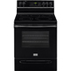 Frigidaire Gallery FGEF3035RB 5.7 Cu. Ft. Black Freestanding Convection Range - FGEF3035RB - IN STOCK
