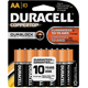 Duracell 10/Pack Alkaline AA Batteries - MN1500B10Z - IN STOCK