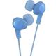 JVC Gumy Plus Inner Ear Headphones (Blue) - HAFX5A - IN STOCK