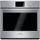 Bosch 500 Series HBL5451UC 30 in. Stainless Convection Single Wall Oven - HBL5451UC - IN STOCK