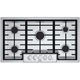 Bosch 800 Series NGM8655UC 36 in. Stainless 5 Burner Gas Cooktop - NGM8655UC - IN STOCK