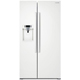 Samsung RS22HDHPNWW 22 Cu. Ft. White Counter Depth Side-By-Side Refrigerator - RS22HDHPNWW - IN STOCK