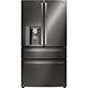 LG LMXS30776D 29.7 Cu. Ft. Black Stainless 4 Door French Door-in-Door Refrigerator - LMXS30776D - IN STOCK