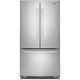 Whirlpool WRF540CWBM 19.6 Cu. Ft. Stainless Counter-Depth French Door Refrigerator - WRF540CWBM - IN STOCK