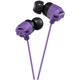 JVC XX Xtreme Bass Earbuds, Violet - HAFX102V - IN STOCK