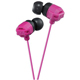 JVC XX Xtreme Bass Earbuds, Pink - HAFX102P - IN STOCK