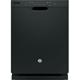 G.E. GDF510PGJBB 55dB Black Front Control Dishwasher - GDF510PGJBB - IN STOCK