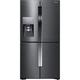 Samsung RF23J9011SG  22.5 cu. ft. Black Stainless Counter-Depth French 4-Door Flex Door Refrigerator - RF23J9011SG - IN STOCK