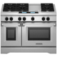 Kitchen Aid KDRU783VSS 48 in. Stainless 6 Burner Dual Fuel Commercial Style Range - KDRU783VSS - IN STOCK