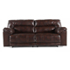 Ashley Signature Design Barrettsville Chocolate  Reclining Sofa - 4730181 - IN STOCK