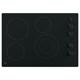 G.E. JP3530DJBB 30 in. Black 4 Burner Electric Cooktop - JP3530DJBB - IN STOCK