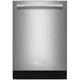 Kitchen Aid KDTE254ESS 39dB Stainless Dishwasher with Stainless Tub - KDTE254ESS - IN STOCK