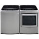 LG Graphite High Efficiency Top Load Washer/Dryer Pair  - WT1801VPR - IN STOCK