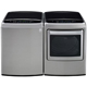 LG Graphite High Efficiency Top Load Washer/Dryer Pair - WT1801VEPR - IN STOCK