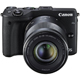 Canon EOS M3 Mirrorless Camera Kit with EF-M 18-55mm & EF-M 55-200mm - M3BUNDLE - IN STOCK
