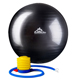 Black Mountain 2000lbs Static Strength Exercise Stability Ball with Pump 75cm Black - 75CMBLK - IN STOCK