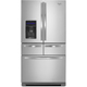 Whirlpool WRV986FDEM 25.8 Cu.Ft. Stainless 5 Door French Door Refrigerator - WRV986FDEM - IN STOCK