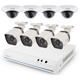 ZModo 8 Channel 720p NVR system with 8 HD Indoor/Outdoor IP Cameras & 2TB HDD - SS76D9D8SC2T - IN STOCK