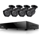 ZModo 8 Channel 1080p NVR system with 4 HD IP Cameras & 1TB HDD - SS88B2B84S1T - IN STOCK