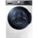 Samsung WF56H9100AW 5.6 Cu. Ft. White Front Load Steam PowerFoam Washer - WF56H9100AW - IN STOCK