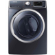 Samsung DV45H6300EG Electric 7.5 Cu.Ft. Onyx Front Load Steam Dryer - DV45H6300EG - IN STOCK