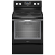 Whirlpool WFE540H0EE 6.4 Cu.Ft. Black Ice 5 Burner Freestanding Range - WFE540H0EE - IN STOCK