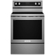 Kitchen Aid KFEG500ESS Electric 6.4 Cu.Ft. Stainless 5 Burner Convection Range - KFEG500ESS - IN STOCK