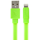 Gecko Flat Glow Lightning Cable - Green - GG100131 - IN STOCK