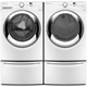 Whirlpool White Front Load Washer/Dryer Pair + Pedestals - WFW87WPEDPR - IN STOCK