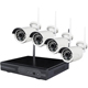 Spyclops Wireless Camera System 4-channel HD video surveillance kit with DVR - SPYNVR4720W - IN STOCK
