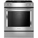 Kitchen Aid KSEG950ESS 6.4 Cu.Ft. Stainless Convection Slide-in Downdraft Range  - KSEG950ESS - IN STOCK