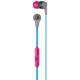 Skull Candy Inkd In-Ear Headphones - Grey/Cyan - S2IKGY383 - IN STOCK