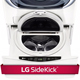 LG Twin Wash WD200CW 29 in. White SideKick Pedestal Washer - WD200CW - IN STOCK