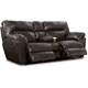 Catnapper Nolan Godiva Leather Reclining Console Loveseat - 4049-1223-29 / 4049122329 - IN STOCK