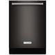 Kitchen Aid KDTM704EBS 44dB Black Stainless 3rd Rack Dishwasher - KDTM704EBS - IN STOCK