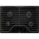 Whirlpool WCG75US0DB 30 in. 4 Burner Black Gas Cooktop - WCG75US0DB - IN STOCK