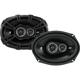 Kicker DS Series 6 in.x9 in. 3-way car speakers - 43DSC69304 - IN STOCK