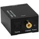 QVS Digital S/PDIF to Stereo Analog RCA Audio Converter - SPDIFRCA - IN STOCK